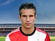 Van Persie tekent voor 1,5 jaar bij Feyenoord