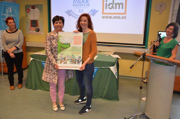 Uit Moerbeke kreeg onder meer basisschool De Palster een certificaat.