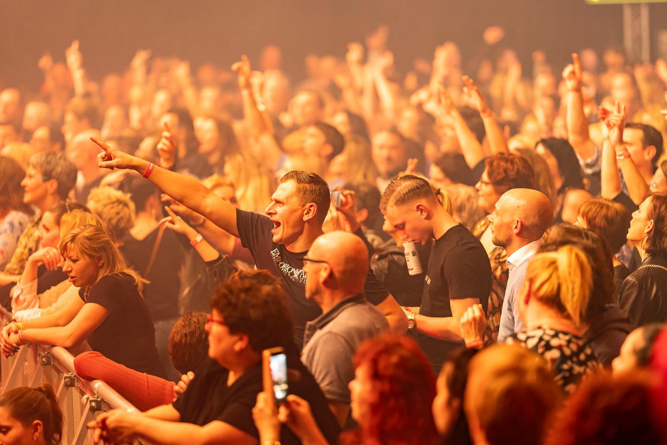 Het publiek tijdens de jubileumeditie van Aemstie Alive, afgelopen januari.