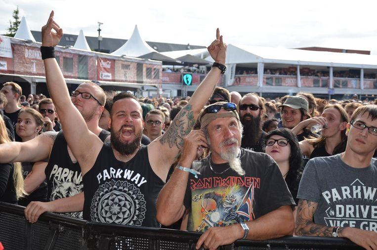 Illustratiefoto: de metaldag op de Lokerse Feesten is bijna uitverkocht.