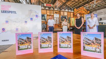Van unieke designshops tot hippe restaurants en knusse cafeetjes: ontdek 34 Leiespots in onze regio en steun zo toeristische ondernemers