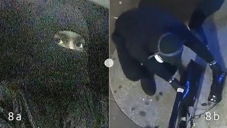 Daders van de plofkraak op 5 januari. Beeld Politie Amsterdam