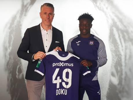 Jeremy Doku prolonge à Anderlecht