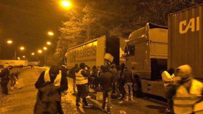 Politie zoekt daders die vrachtwagen plunderden in Feluy