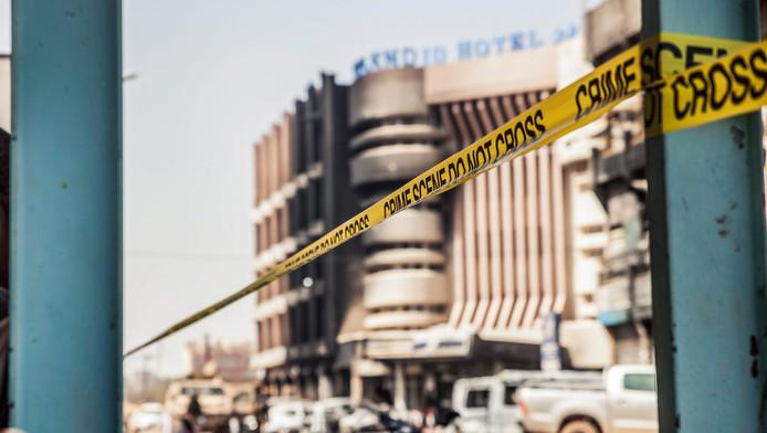 Archieffoto: anderhalf jaar geleden pleegden jihadisten een aanslag op een bij buitenlanders populair hotel in Ouagadougou.