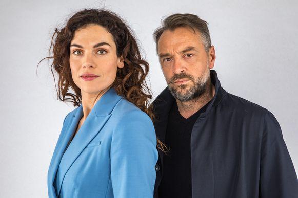 Anna Drijver en Tom Waes spelen de hoofdrollen in 'Undercover'