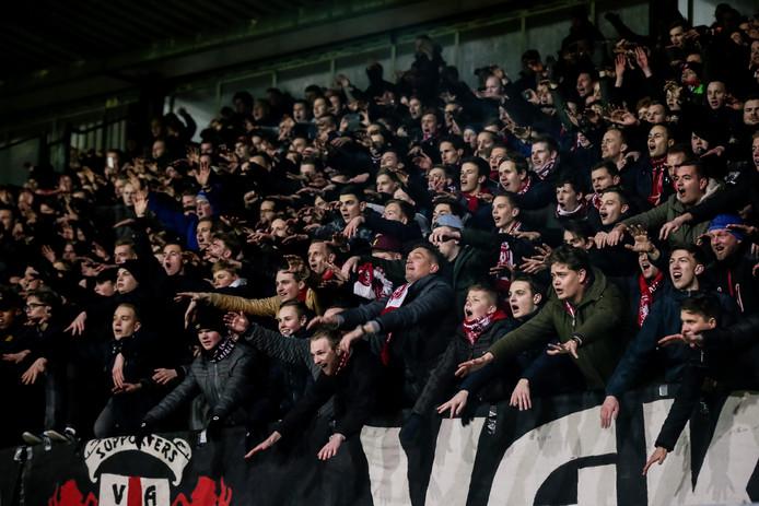 FC Twente-supporters.