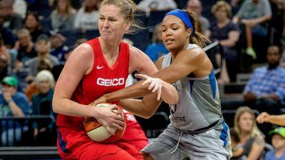 Emma Meesseman wint opnieuw met Washington Mystics voor start play-offs