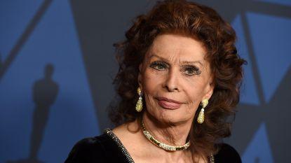 Sophia Loren voor het eerst in elf jaar weer te zien in een film