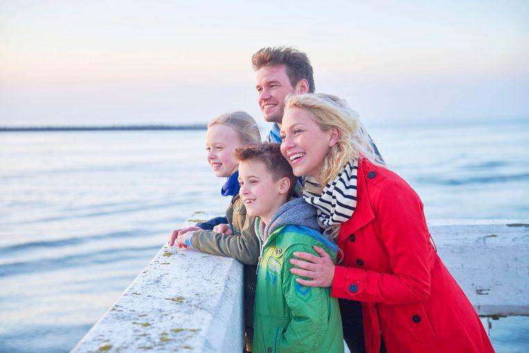 Bijna zes op tien toeristen reizen met kinderen.