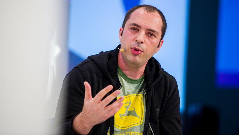 Jan Koum, de oprichter van Whatsapp, kwam in de VS vanuit Oekraïne als 16-jarige jongen met zijn moeder. Beeld AP
