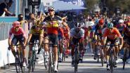 """Belgisch kampioen Tim Merlier geniet van ritzege in Tirreno-Adriatico: """"Mooier dan dit wordt het nooit"""""""