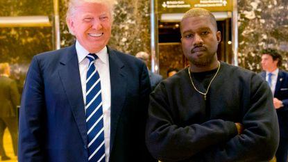 """""""Sinds Trump is voor mij bewezen dat ik president kan worden"""": Kanye West brengt bizar nieuw nummer uit"""