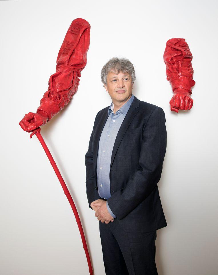 Directeur Robbert Roos van het museum De Kade in Amersfoort. Beeld Judith Jockel