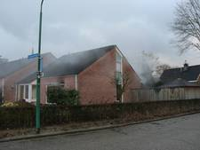 Brand in keuken van woning aan Violenstraat in Haps