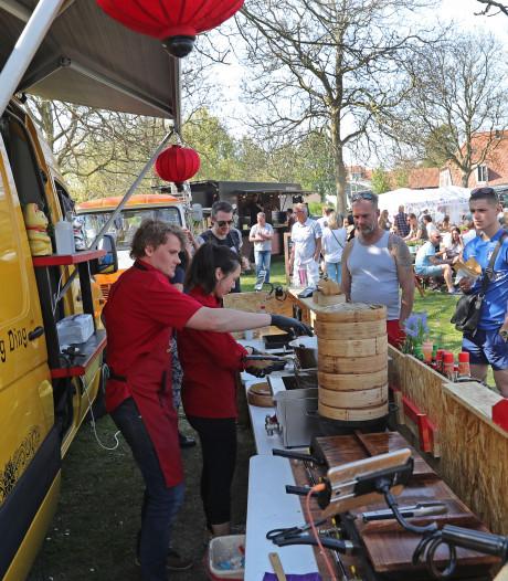 Bonte karavaan met 15 foodtrucks keert dit weekend terug in Brielle