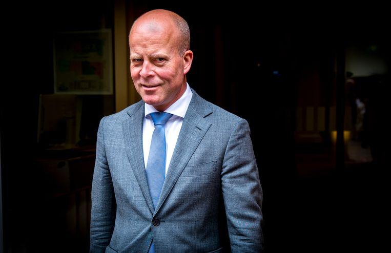 Staatssecretaris Raymond Knops van Binnenlandse Zaken en Koninkrijksrelaties (CDA). Ondanks zijn toezegging dat BIT blijft, zijn er nog steeds zorgen in de Kamer. Beeld Jerry Lampen / ANP