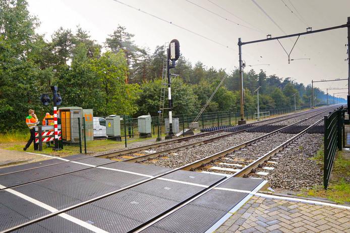 Geen treinen tussen Helmond en Horst-Sevenum door blikseminslag