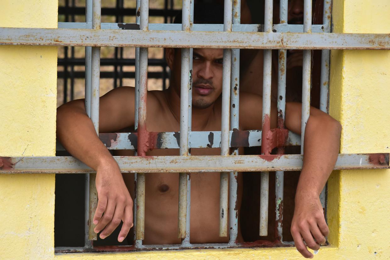 Gevangen genomen Venezolanen op Curaçao.