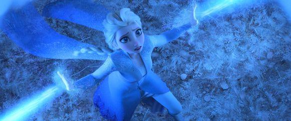 Een scène uit de nieuwste kaskraker van Disney: 'Frozen 2'.