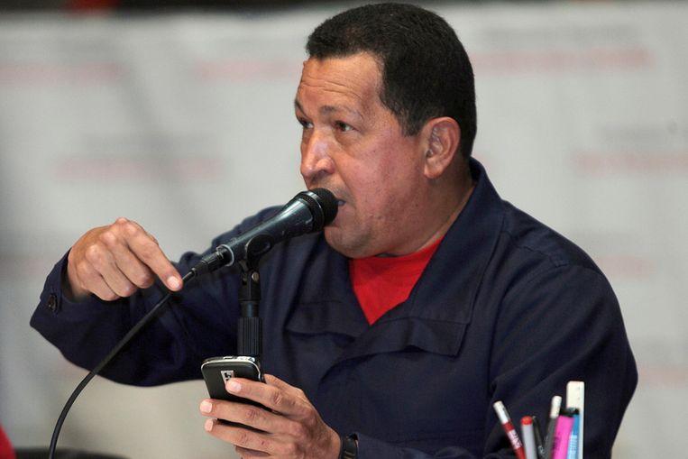 Chavez (Reuters) Beeld REUTERS