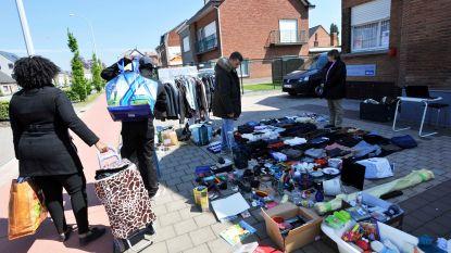 350 gezinnen doen mee aan garageverkoop