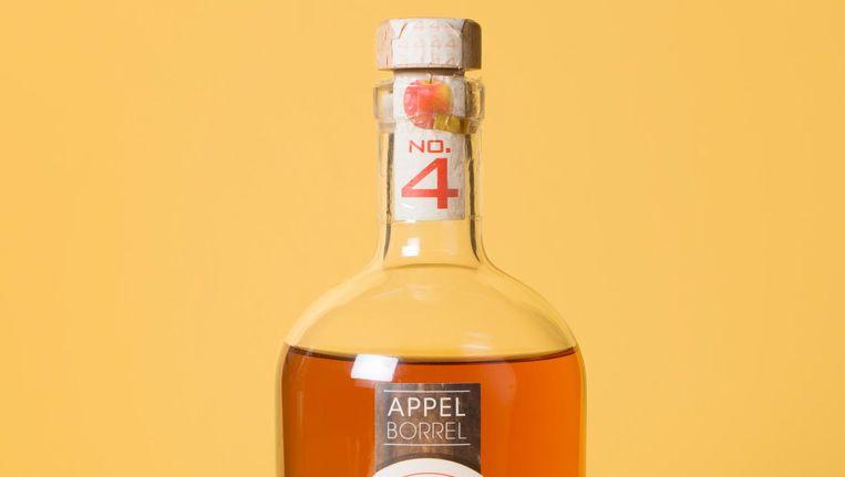 Appelborrel No. 4 van distilleerderij Leon in Stevensbeek. Beeld Annabel Miedema