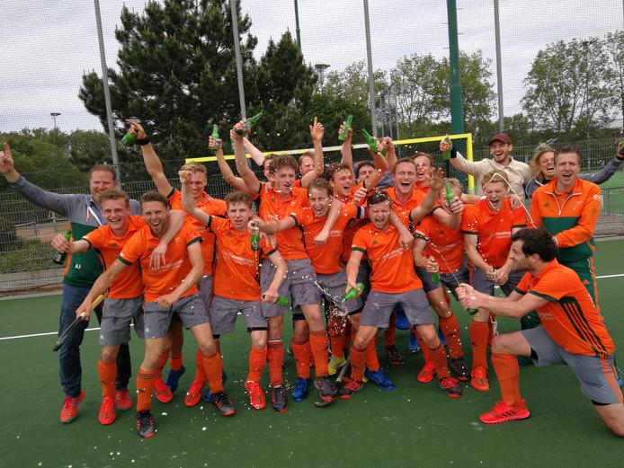Were Di mannen kampioen overgangsklasse 2018/2019
