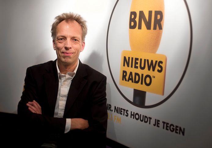 Sjors Frohlich, hoofdredacteur van BNR Nieuwsradio.