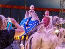 Circus Renz slaat tenten op in Steenwijk