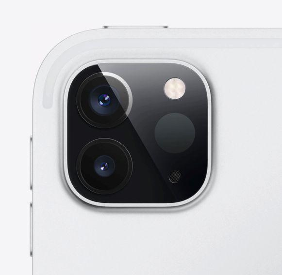 De nieuwe camera van de iPad Pro met LiDAR-scanner.