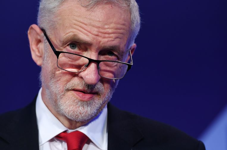 Partijleider Jeremy Corbyn
