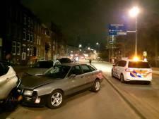 Beschonken automobilist richt ravage aan op Beukelsdijk