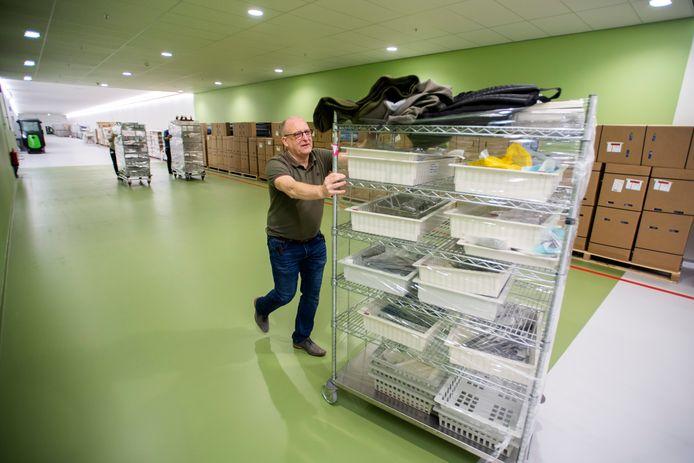 De Centrale Sterilisatie Afdeling is de eerste die is verhuisd naar de nieuwbouw van het Amphia Ziekenhuis in Breda.