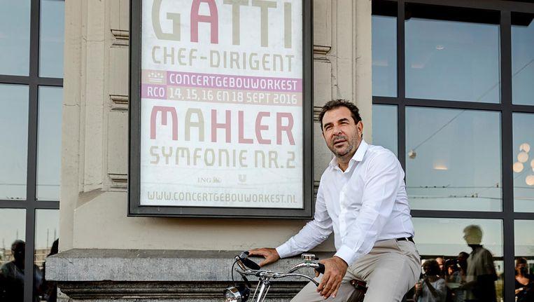 Daniele Gatti is sinds 2016 dirigent van het Concertgebouworkest Beeld anp
