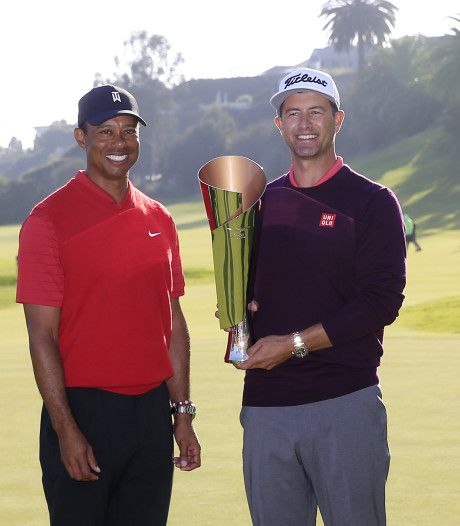 Adam Scott wint thuistoernooi Tiger Woods