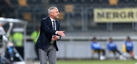 NEC-trainer De Gier: 'We krijgen te veel doelpunten tegen'