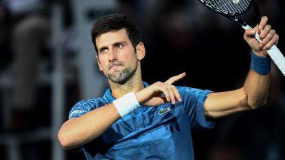 Djokovic verliest eerste set sinds eind augustus, maar gaat net als Thiem naar halve finales in Parijs