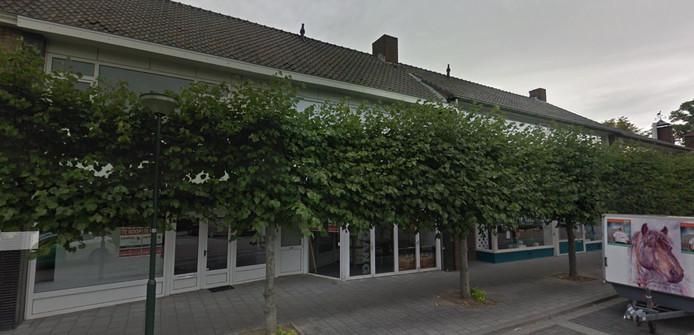 De panden aan de Hertog Jan II-laan in Schijndel waar nieuwbouw is gepland.