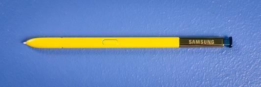 De stylus-pen.