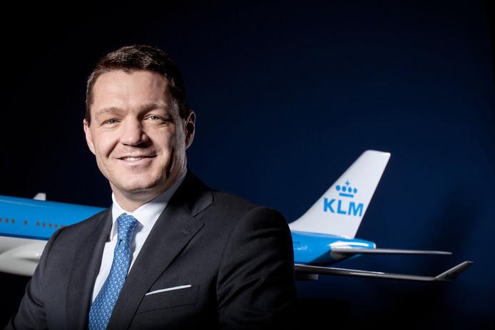 Pieter Elbers, topman KLM