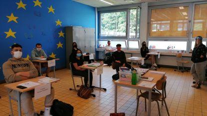 Tweede- en vierdejaars Da Vinci Campus Ronse zitten volgende week opnieuw in de klas