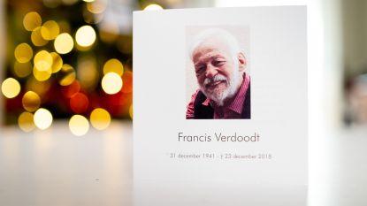 """Afscheid van gewezen BRT-presentator Francis Verdoodt:  """"Dank je voor jouw leven in dienst van onze Vlaamse cultuur"""""""
