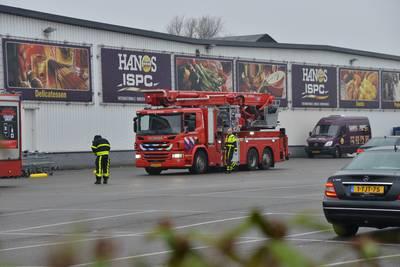 'Lek' bij Hanos Breda, personeel en klanten geëvacueerd