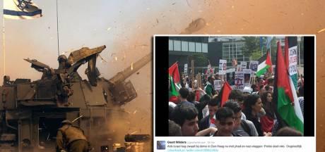 Duizenden mensen bij anti-Israëlbetoging Den Haag