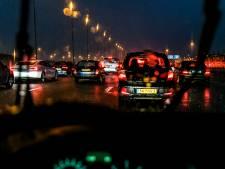 Flinke vertraging op A29 richting Rotterdam