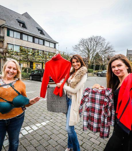 """Drie handelszaken in Sint-Kruis bundelen de krachten voor fotoshoot: """"We moeten iéts doen om onze winkels te redden"""""""