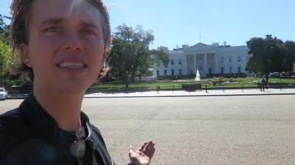 """""""Eerste indruk? Het Witte Huis is eigenlijk redelijk klein"""": Ian Thomas bezoekt Washington D.C voor zijn show"""