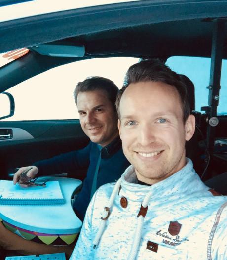 Rally van Zweden eindigt voor Kevin Abbring in sneeuwwal