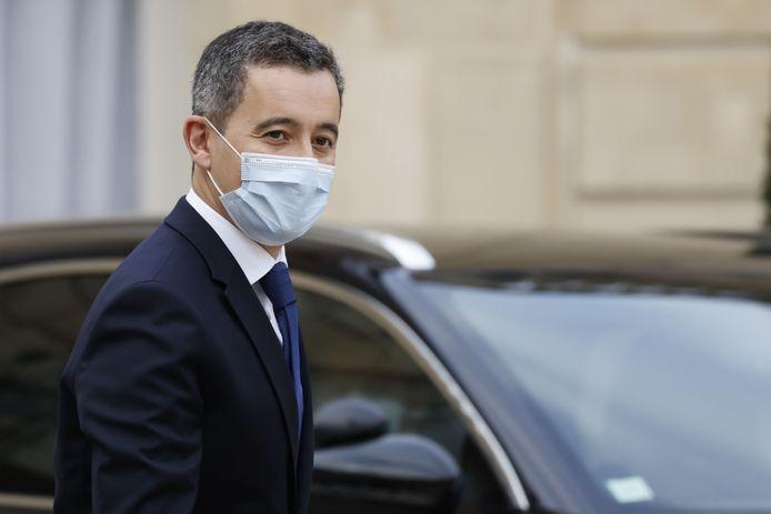 Gérald Darmanin ministre français de l'Intérieur.